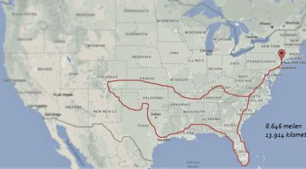 3 Monate mit dem Auto durch die USA