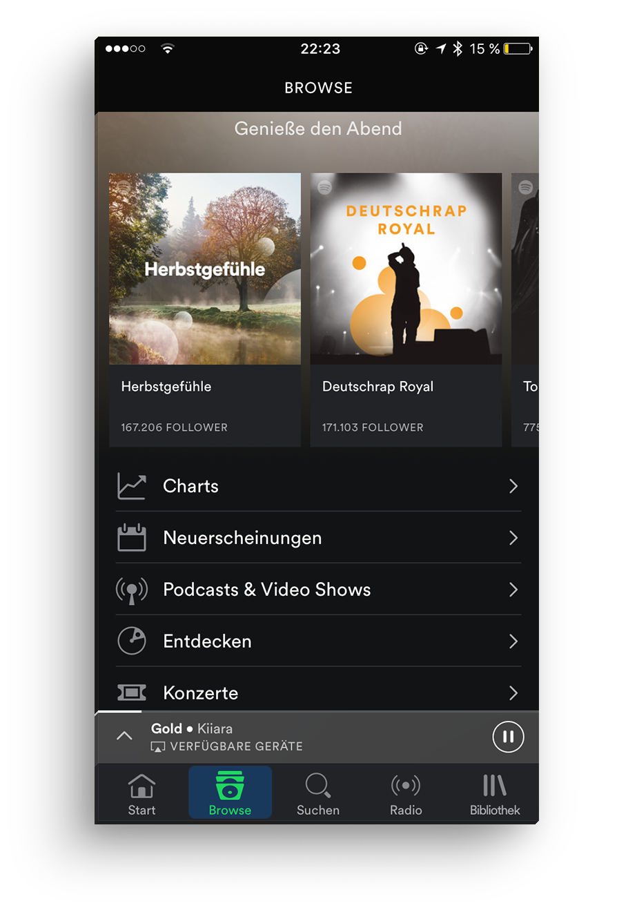 app-screen-empfehlung-spotify