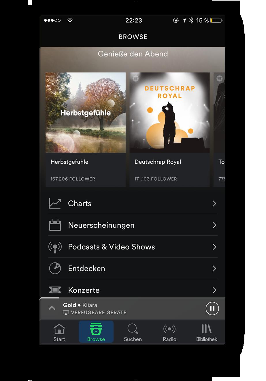 app-screen-empfehlung-spotify