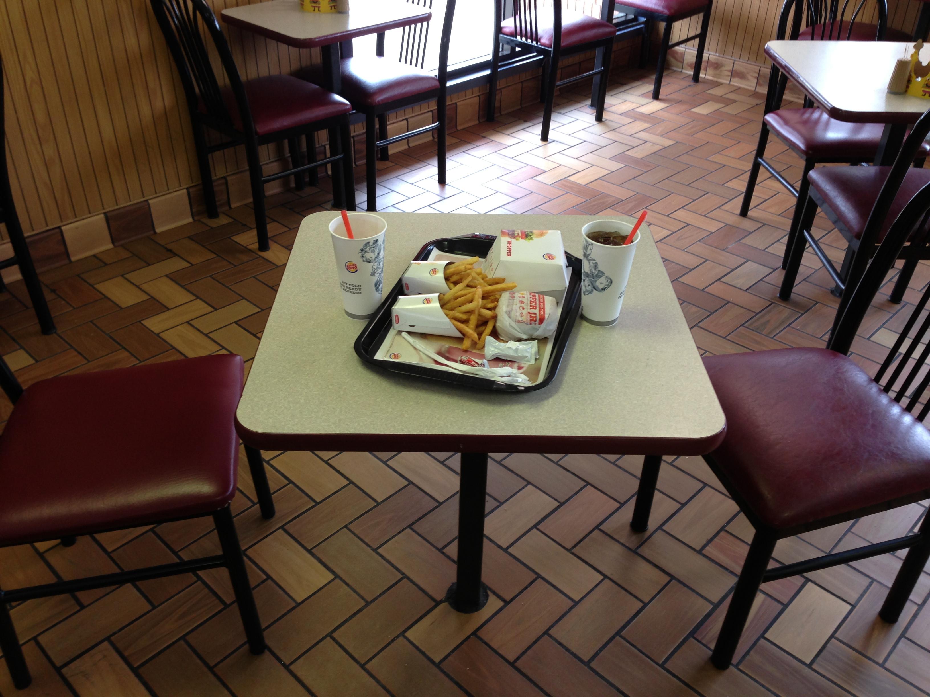 Burger bei Burger King