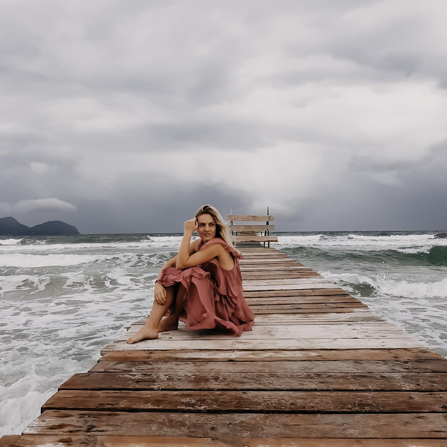 beach, strand, shooting, mallorca, muro, playa